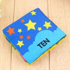 Educational Intelligence Development Cognize Cloth Book Toy For Baby Shape