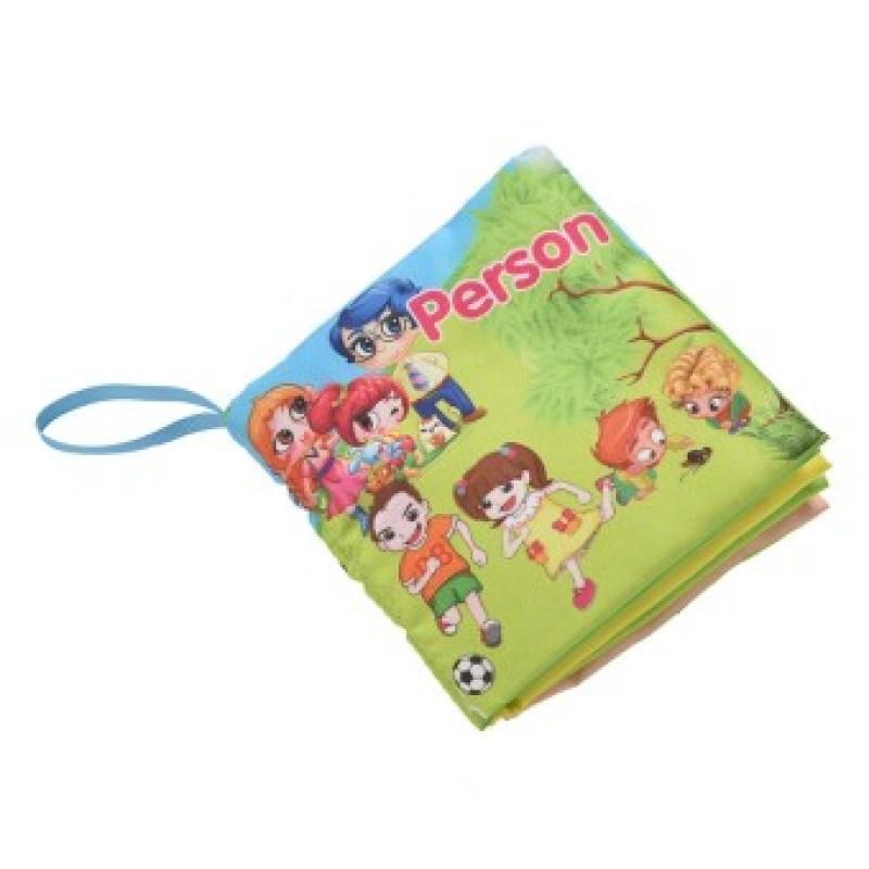 Fabric Books Educational Cloth Book Preschool Training Cartoon Baby Toy Person (EXPORT)