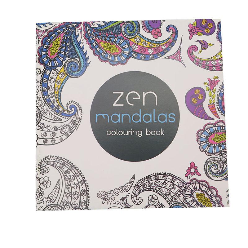 Hanyu Secret Garden Zen Mandala Coloring Book For Children Adult Relieve Stress Kill Time Graffiti Painting
