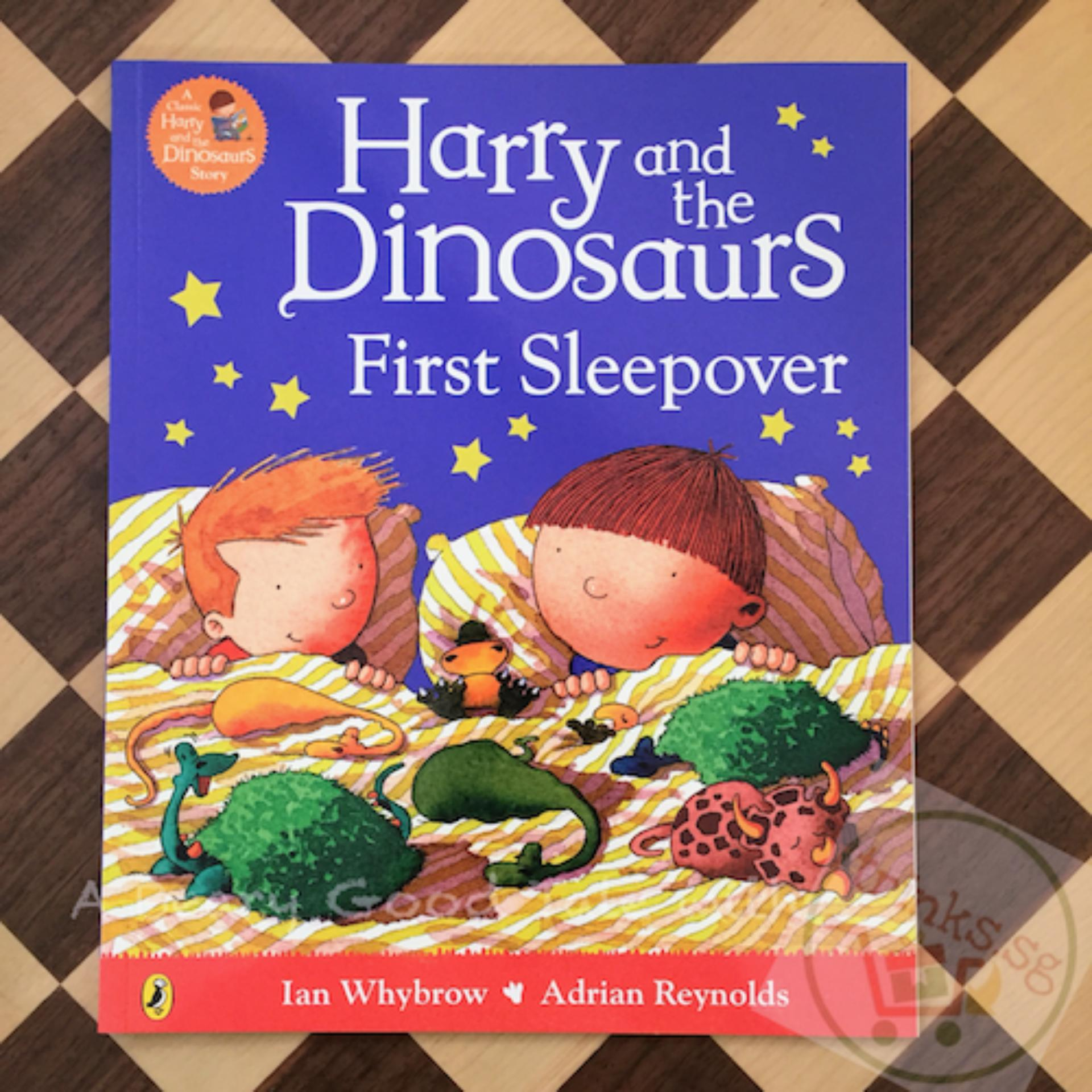 Harry And The Dinosaurs First Sleepover Singapore Peppa Pig Peppas