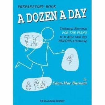 Harga A Dozen A Day Preparatory Book