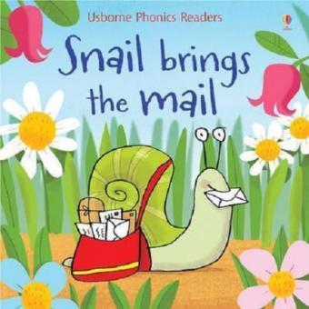Harga Usborne Phonics - Snail Brings the Mail