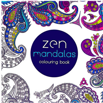 Harga HengSong Secret Garden Zen Mandala and Coloring Book (English) 12pages