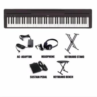Harga Yamaha P-45 Digital Piano - With Keyboard Stand & Bench