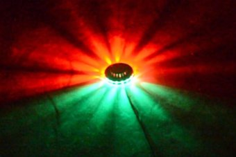 AOBO Lighting Sunflower 48LED RGB Bar Party Disco DJ Effect Light Sound-Control Stage Lighting LSF101 - 5