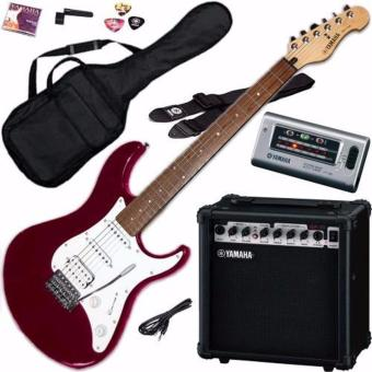 Harga Yamaha EG112GPII Metallic Red Electric Guitar Package