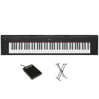 Harga 1 Year Warranty YAMAHA NP-32 PIAGGERO 76 KEYS SLIM PORTABLE KEYBOARD BUNDLE
