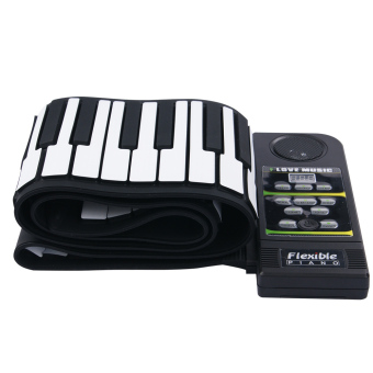 Harga 88 Key Electronic Piano Keyboard Silicon Flexible Roll Up Piano with Loud Speaker