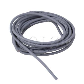 Harga 9Ft Guitar Shielded Circuit Wire Grey