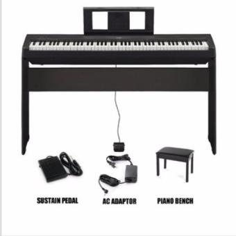 Harga Yamaha P-45 Digital Piano - With Piano Stand & Bench