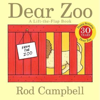 Harga Dear Zoo: A Lift-the-Flap Book Board book