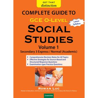 Harga COMPLETE GUIDE TO O-LEVEL SOCIAL STUDIES VOL 1
