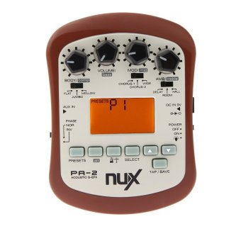 Harga NUX PA-2 Acoustic Guitar Effect Multifunctional Portable
