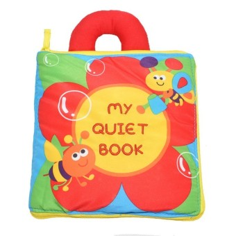 Harga Cloth Book My Quiet Book - intl