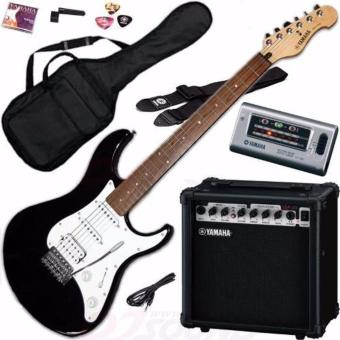 Harga Yamaha EG112GPII Black Electric Guitar Package