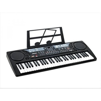 Plixio 61 Key Mid-Size Electric Piano Keyboard with USB & MP3 Input- Portable Electronic Music Keyboard - intl