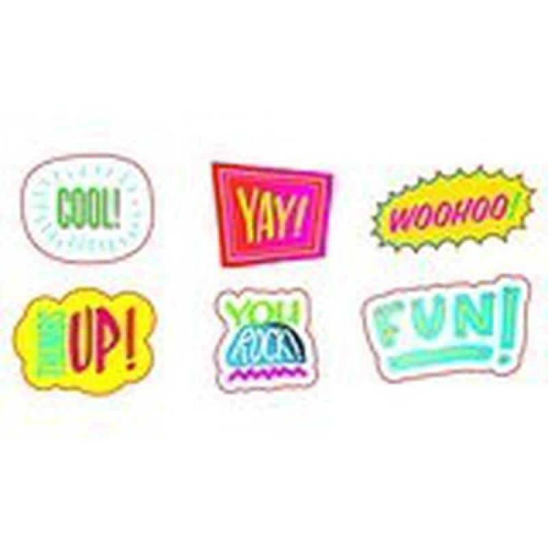 SC563166 Comic Strip Words Stickers