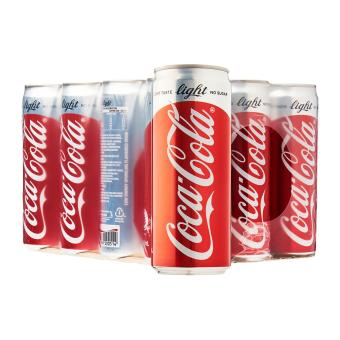 Harga Coca-Cola Light 330ML x 12