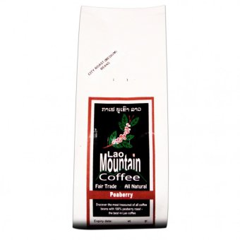 Harga Rare - Laos Peaberry Blend Coffee, Organic, Fair Trade, Whole Bean Coffee