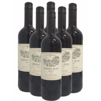 Harga Pierre Jean Merlot 750ml x 6 Bottles