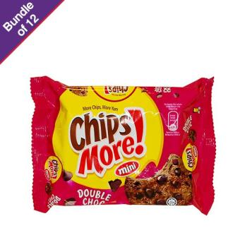 Harga Chipsmore Double Chocolate 88g - Bundle of 12