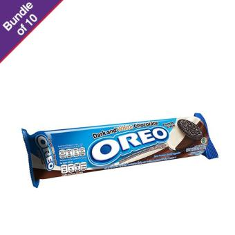 Oreo Dark & White Chocolate 137g - Bundle of 10