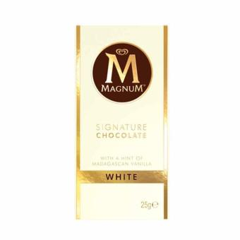 Harga Magnum White Chocolate Bar 25g