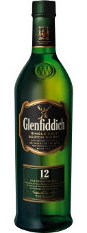 Glenfiddich 12 Year Old Whisky 700ml