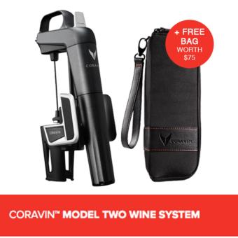 Harga CORAVIN™ MODEL TWO WINE SYSTEM (Includes A Free Bag)