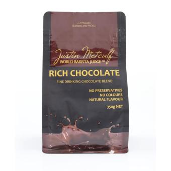 Harga Rich Chocolate Powder - Justin Metcalf 350g.