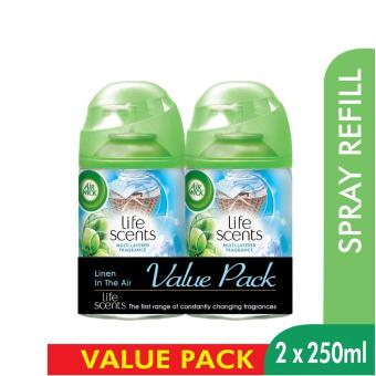 Air Wick Life Scents Linen in the Air Freshmatic Refill Twin Pack