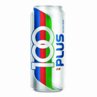 Harga 100 Plus - 330 ml x 24 cans