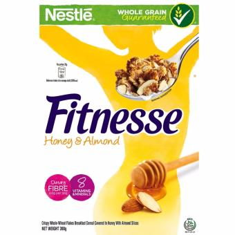 Harga NESTLE FITNESSE Honey & Almond Cereal w/ Whole Grain (390g)