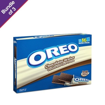 Oreo Vanilla Wafer 232g - Bundle of 3