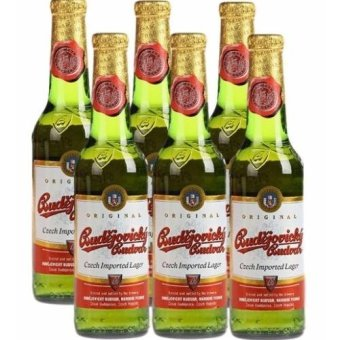 Harga Budejovicky Budvar (Czech Republic) Beer 330ml x 6 Bottles