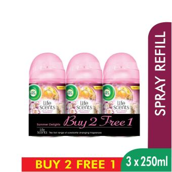 Air Wick Life Scents Summer Delights Refill Triple Pack
