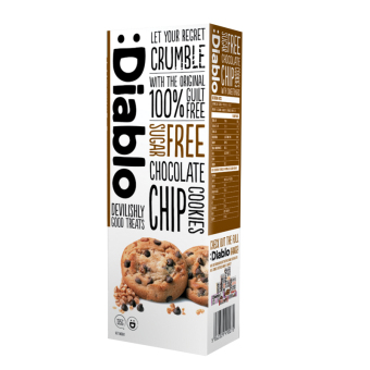 Harga Diablo Chocolate Chip Cookies 130G
