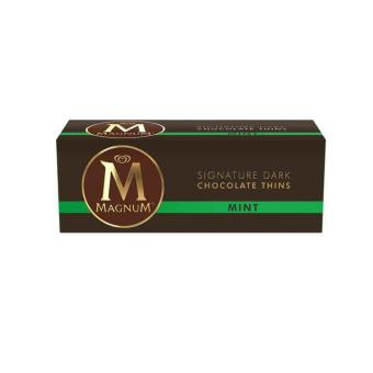 Harga Magnum Mint Chocolate Thins 180g