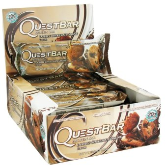 Harga Quest Nutrition Bars (Double Chocolate Chunk) Box of 12