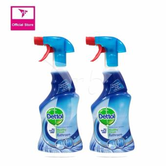 Harga Dettol Trigger Bathroom 500ML Twin Pack