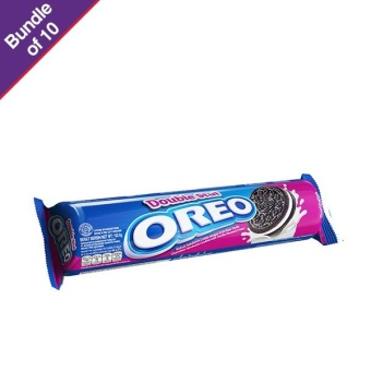 Oreo Double Stuff Chocolate 152.4g - Bundle of 10