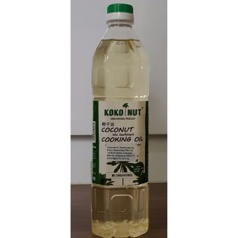 Harga Kokonut 100% Coconut Cooking Oil 1L100% Natural Product without Coconut Scent