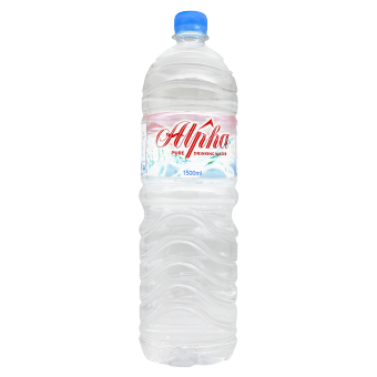 Harga Alpha Pure Drinking Water - 12 bottles x 1500 ml