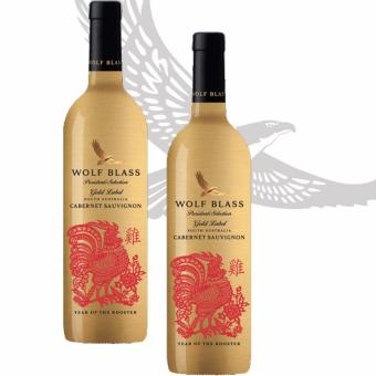 Harga [Limited time 2 bottles Offer] Wolf Blass President's Selection Gold Label Cabernet Sauvignon (Year of the Rooster)