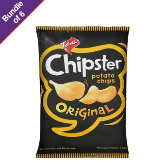 Harga Twisties Chipster Original 160g - Bundle of 6
