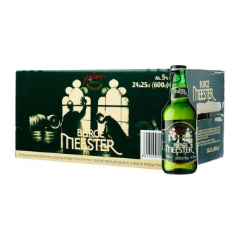 Harga BurgeMeester beer bottle, 24x250ml (5% Alc)