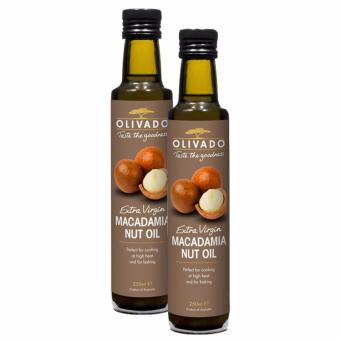 Harga Olivado Extra Virgin Macadamia Nut Oil 250ml (Bundle Deal)