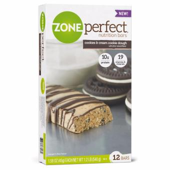 Harga ZonePerfect Nutrition Bars Cookies and Cream Cookie Dough 12 Pack