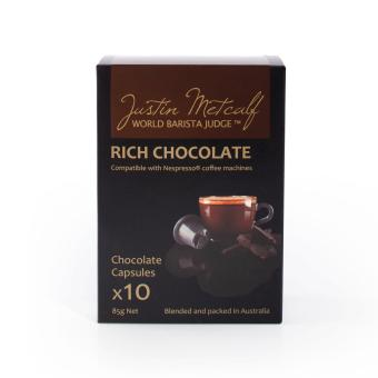 Harga Rich Chocolate - Justin Metcalf 24x10's.