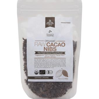 Harga Nature's Superfoods Organic Raw Cacao Nibs 250g